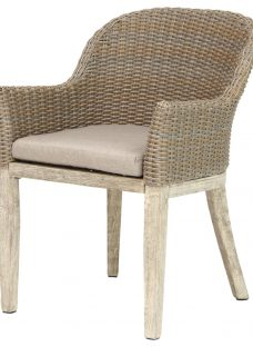 KETTLER Cora Round Back Outdoor Dining Chair
