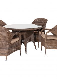 4 Seasons Outdoor Sussex 4 Seater Dining Set