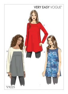 Vogue Women's Top Sewing Pattern