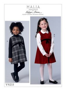 Vogue Children's Dress and Blouse Sewing Pattern