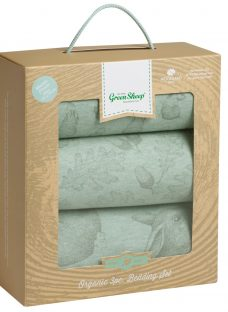 The Little Green Sheep Wild Cotton Baby Rabbit Moses/Pram Bedding Set
