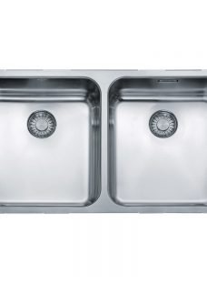 Franke Largo LAX 120 36-36 Undermounted 2 Bowl Kitchen Sink