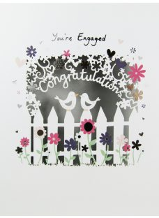 Paperlink You're Engaged Greeting Card