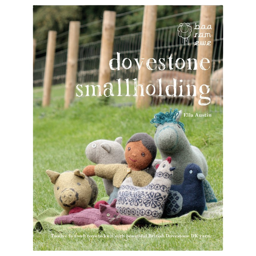 Baa Ram Ewe Dovestone Smallholding Knitting Pattern Book by Ella Austin