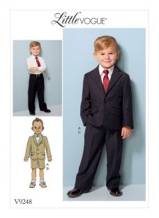 Vogue Children's Jackets With Shorts and Trousers Sewing Pattern