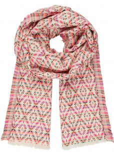 AND/OR Aztec Diamond Pattern Scarf