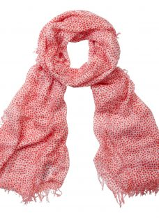 Pure Collection Animal Print Scarf
