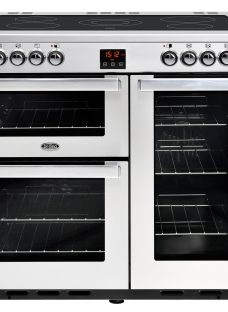 Belling Cookcentre 90E Electric Range Cooker With Ceramic Hob