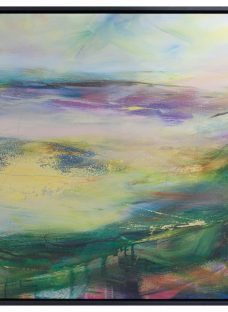 Lesley Birch - Soft Winds In Colour Framed Canvas