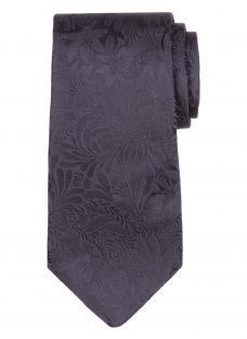 Paul Smith Tonal Floral Embroidery Tie