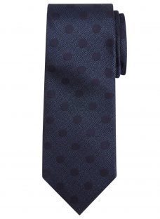 Chester by Chester Barrie Textured Spot Silk Tie