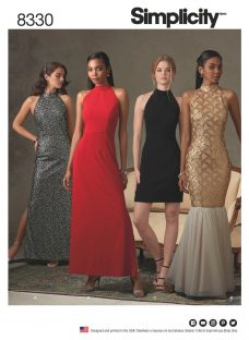 Simplicity Women's Special Occasion Dresses Sewing Pattern