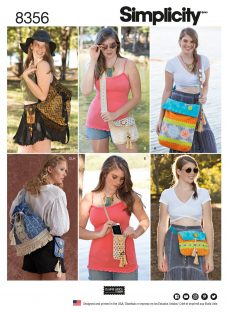 Simplicity Festival Bag Sewing Pattern