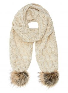 John Lewis Children's Cable Knit Scarf