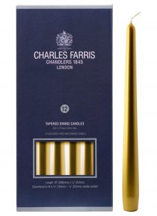 Charles Farris Tapered Dinner Candles