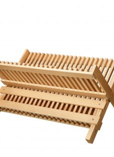 John Lewis Croft Collection Beech Dish Drainer