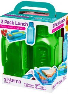 Sistema Lunch Box and Water Bottle Set