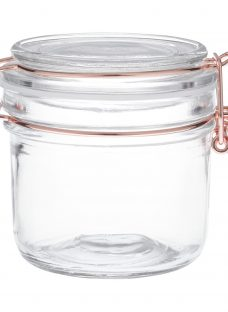 House by John Lewis Copper Wire Clip Top Jar