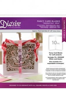 Crafter's Companion Die'sire Fancy Card Blanks