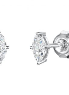 Jools by Jenny Brown Cubic Zirconia Oval Stud Earrings