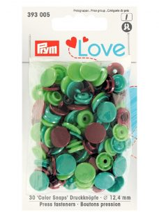 Prym 12.4mm Colour Snaps Press Fasteners