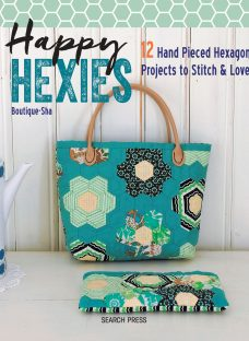 Search Press Happy Hexies Sewing Book