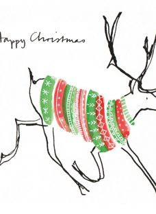 Museums and Galleries A Jumper For Rudolph Charity Christmas Cards