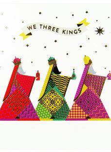Woodmansterne We Three Kings Charity Christmas Cards