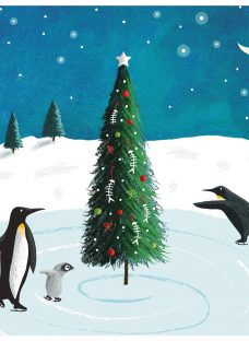 Almanac Pirouetting Penguins Charity Christmas Cards
