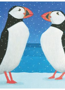 Almanac Perfect Puffins Charity Christmas Cards