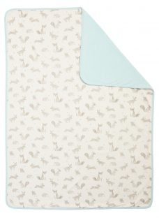 John Lewis Baby Forest Friends Swaddle Blanket