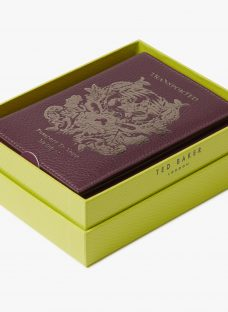 Ted Baker Jettoff Leather Passport Holder