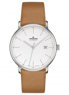 Junghans 027/4734.00 Men's Form Automatic Date Leather Strap Watch