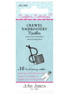 John James Crafters Crewel Collection Embroidery Needles