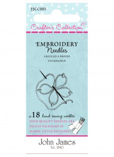 Needles by John James Crafters Collection Embroidery Needles