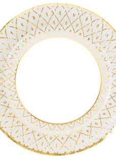 Talking Tables Art Deco Paper Plates