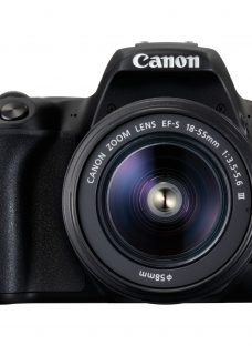 Canon EOS 200D Digital SLR Camera with 18-55mm f/3.5-5.6 III Lens