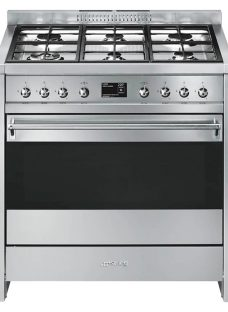 Smeg A1-9 Opera Range Cooker with Gas Hob