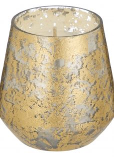 Anthropologie Best of Show Glass Mini Candle