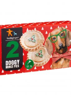 Fred & Ginger Dog Friendly Mince Pie Treats