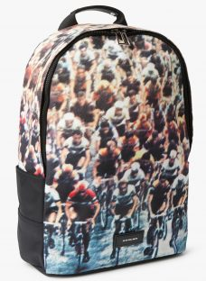 PS by Paul Smith Canvas Cycling Print Backpack