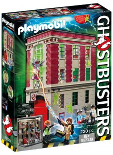 Playmobil Ghostbusters Fire House Headquarters Play Set