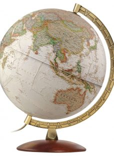 National Geographic Executive Brass Edge Globe