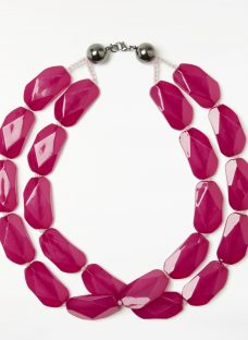 John Lewis Double Layer Beaded Necklace