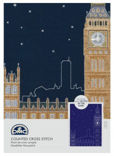 DMC Creative London By Night Counted Cross Stitch Kit