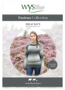 West Yorkshire Spinners Fusions Women's Bracken Sweater Knitting Pattern
