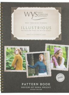 West Yorkshire Spinners Illustrious Knitting Pattern Book by Emma Wright