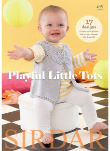 Sirdar Snuggly Baby Bamboo Playful Little Tots Knitting Pattern Book