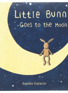 Jellycat Little Bunny Goes to Moon Book