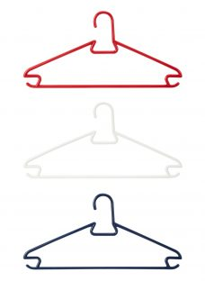 House by John Lewis Plastic Clothes Hangers